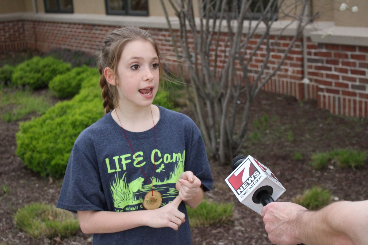 Evans WTRF Interview LIFE Camp