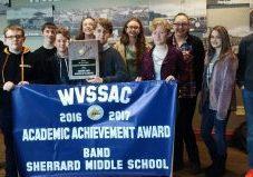 2017 SMS WVSSAC Band Award Pic 2