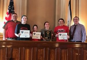 Sherrard Middle School will represent the northern panhandle at the West Virginia History Bowl Championships in Charleston this April.