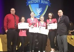 The Sherrard Middle School History Bowl team grabbed the school's first West Virginia History Bowl accolade Tuesday.
